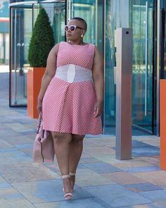 Queen fashion, big girl fashion, curvy fashion, plus size fashion, womens f Thick Girl Fashion, Plus Size Fashion For Women, Curvy Women Fashion, Plus Size Women, Plus Size Dresses, Plus Size Outfits, African Fashion Dresses, Fashion Outfits, Plus Zise