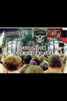 Thank you Pierce The Veil you gave me hope to inspire others. You where there for me when no one else was. Thank you.