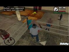 GTA San Andreas - Learning all Gym Moves - http://www.thehowto.info/gta-san-andreas-learning-all-gym-moves/