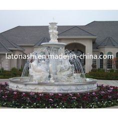 Design Granite Stone Carving Sculpture Water Fountain for Outdoor / Outside on Made-in-China.com