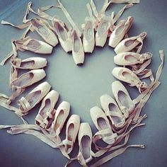 heart #pointe shoes #MotivationalDanceSayings