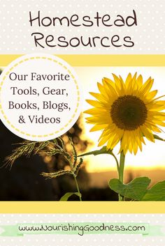 Tried and True homesteading gear, tools, books, blogs, and other resources to get you started out right the first time!  Homesteading Books, How to Homestead, Backyard Farming, Homesteading for Beginners,  Homesteading Ideas, Homesteading Tools and Products that really work!