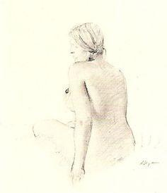 Helga  -   Andrew Wyeth  American 1917-2009  The Helga Pictures