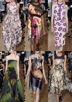 Patternbank brings you our third and final print highlight report on the recent London S/S 2014 Fashion shows. In this instalment we have again selected ke