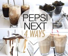 Get the recipes for these 4 fun-filled treats at The Style Insider Cream Soda, Ice Cream, V60 Coffee, Pepsi, Beverages, Drinks, Soul Food, Paleo, Treats
