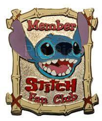 LE✿Disney Auctions Pin✿Lilo✿Member of Stitch Fan Club✿Alien 626✿Ohana✿Adoption✿. $59.95.