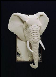 Calvin Nicholls, Canadian Paper Sculpture Artist Is A Master Of Paper Art