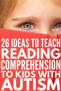 26 Reading and Autism Ideas | Autism and reading comprehension can be difficult for parents and teachers to teach to children. Whether your child or student is a struggling reader, has difficulty with WH questions, needs help with sight words and decoding strategies, or has nonverbal autism, these special education teaching strategies and literacy activities are a good place to start! Teaching Autistic Children, Autism Teaching, Autism Education, Teaching Special Education, Autism Activities, Autism Classroom, Children With Autism, Teaching Reading, Autism