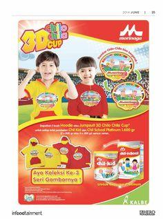 Fresh People, dapatkan 1 buah Hoodie atau Jumpsuit 3D Chilo Chila Cup untuk setiap pembelian Chil Kid dan Chil School Platinum 1.600 gr.  Ayo belanja sekarang juga di Hero Supermarket dan koleksi ketiga seri gambarnya