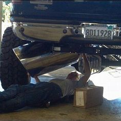 Thats A Mans Exhaust Tip Lifted Chevy Trucks Dodge Jeep Truck Big