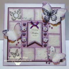 Time Flies collection from Craftwork Cards