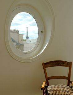 PARIS - A+B Kasha represents a wide range of properties for sale in Paris; buy an apartment, studio, & flat in Paris & Tour Eiffel, Parisienne Chic, Looking Out The Window, Belle Villa, Through The Window, Window View, Windows And Doors, Round Windows, City Lights