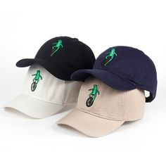 f59a2e65e4d New Embroidery Wheelbarrow Frog Dad Snapback Baseball Cap Curved Bill Green Frog  Pepe Fitted Hats Meme Frog Visor Hat Gorras