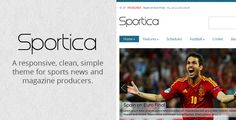 Sportica v1.0  Responsive Sports News/Magazine Theme