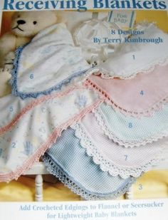 Crochet Edging for Baby Blankets | your-craft.org