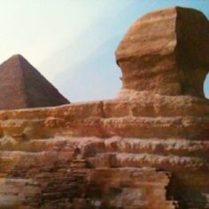 The great spinx of Egypt