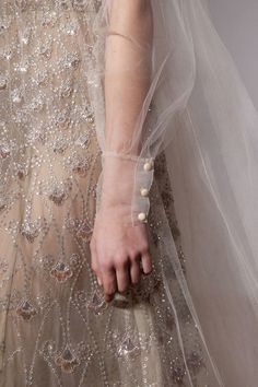 Beautiful Fashion Details...Valentino, Spring 2017, Couture collection by Pier Paolo Piccioli.