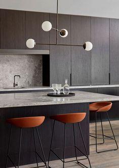 Kitchen Ceres Gable House by Tecture est living Home Decor Kitchen, Rustic Kitchen, New Kitchen, Home Kitchens, Kitchen Pantry, Kitchen Layout, Kitchen Colors, Kitchen Ideas, Modern Kitchen Design