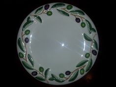 Antique Handgemalt Italian Tiriduzzi Deruta Platter