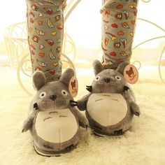 Kawaii, Totoro Merchandise, Cute Slippers, Edgy Outfits, Christmas Gifts, Plush, Geek Stuff, Disney, Crafts