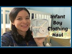 Newborn Baby Boy Clothing Haul-April 2016 | FiveMinutesandUs - YouTube