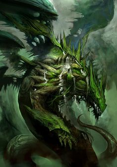 old dragon / green dragon / mythical beast / fantasy Dragon Artwork, Cool Dragons, Sword And Sorcery, Creature Concept, Mythological Creatures, Fantasy Landscape, Magical Creatures, Fantasy Artwork, Concept Art