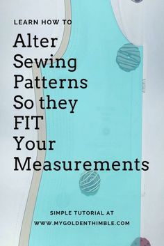 Sewing For Beginners Learning Sewing pattern drafting. Learn to Grade or Altering Sewing Patterns with this simple tutorial. Now you can use multiple sizes of one sewing pattern. Sewing Hacks, Sewing Tutorials, Sewing Crafts, Sewing Tips, Sewing Ideas, Pattern Drafting Tutorials, Maxi Dress Tutorials, Fat Quarter Projects, Do It Yourself Fashion