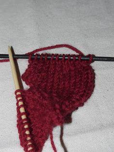 DIY med Ulla-Bella : Et tovet hjerte blir til Knitted Hats, Crochet Necklace, Knitting, Tricot, Breien, Stricken, Weaving, Knits, Crocheting