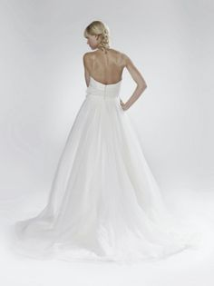 Daisy - Bridal Gown by Lis Simon (back)
