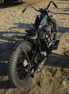 Rat Bobber #motorcycles #bobber #motos | caferacerpasion.com
