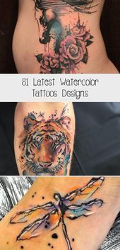 81 Latest Watercolor Tattoos Designs Tattoos Aquarell Tattoos