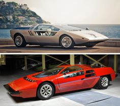 1972 Maserati Boomerang - Futuristic Concept Cars From the 70s and 80s – Visions From a Retro Future