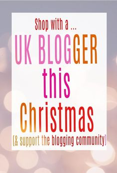 UK bloggers are a creative bunch and many sell gorgeous, handmade or  curated gifts too. Come and support the UK blogging community this Christmas and see what they have to offer  #christmasgifts #UKbloggers #UKBloggingcommunity #bloggers