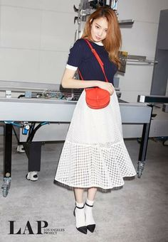 LEE SUNG KYUNG❤이성경~❤Lee Sungkyung for LAP 2015 S/S lookbook