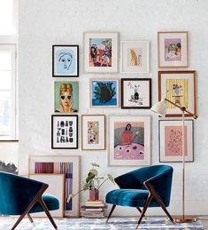 Pin on Home Decor Jan 2020 - I found the composition of this gallery wall very . - uncategorized - Home Decor Living Room Designs, Living Room Decor, Bedroom Decor, Bedroom Wall, Muebles Art Deco, Decor Scandinavian, Deco Boheme, Inspiration Wall, Autumn Home