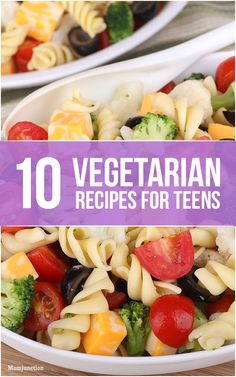 10 Fantastic Vegetarian Recipes For Teens: Here we talk about ten popular vegetarian recipes for your teen. You might find a new recipe hidden here.