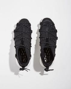 Y-3 | Cross Lace Sneaker | La Garçonne