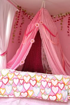 A hula hoop and some curtains or sheets to make an indoor tent & DIY Indoor tent - farewell for friend | Grown Up Blanket Forts ...