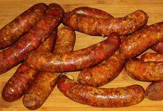 How To Make Sausage, Sausage Making, Kielbasa, Polish Recipes, Sausage Recipes, Charcuterie, Hot Dogs, Grilling, Meat