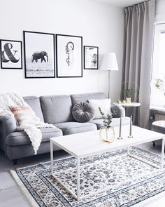 New Decor Salon Moderne Couch Ideas Rugs In Living Room, Interior Design Living Room, Living Room Designs, Living Room Decor, Dining Room, Apartment Furniture, Home Furniture, Apartment Couch, Apartment Guide