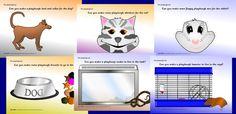 Pets playdough mats (SB2611) - SparkleBox