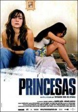 CINE(EDU)-230. Princesas. Dir. Fernando León de Aranoa. España, 2005. Drama. Esta é a historia de 2 mulleres, de 2 putas, de 2 princesas. Caye, ten case 30 anos, os flocos de peiteado e un atractivo indiscutible, de barrio. Zulema é unha princesa desterrada, doce e escura, que vive a diario o exilio forzoso. Cando se coñecen están en lugares diferentes: son moitas as rapazas aquí que ven con receo a chegada de inmigrantes á prostitución…