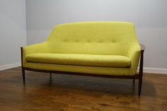 Vintage Swedish Teak Sofa by pureimaginationltd on Etsy