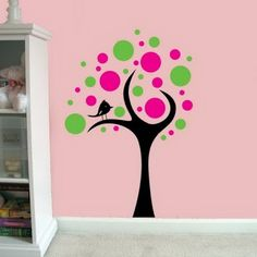1000 images about pintura arboles on pinterest trees for Pegatinas murales pared