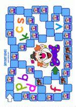 Letterspel circus 1 - spelbord