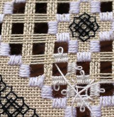 "And this is how my ""perfect picot"" is done. It is not my  technique but stitched according to Janice Love's instructions.       I am workin..."