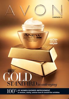 Avon Campaign 13 brochure featuring Anew Ultimate Performance #skincare!