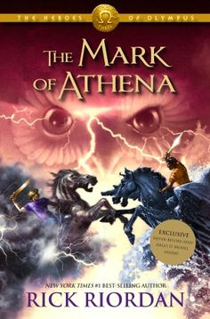 The Mark of Athena, Rick Riordan - Comes out October 2, ya'll!  Mark your calendars!!