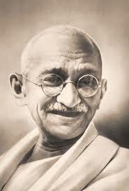 Mahatma Gandhi, geweldloze strijder voor mensenrechten