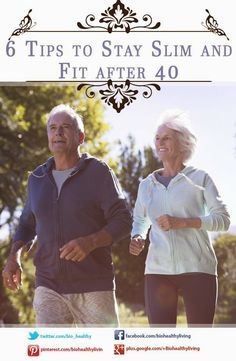 Tips To Stay Slim And Fit after 40  #getfit #fatloss